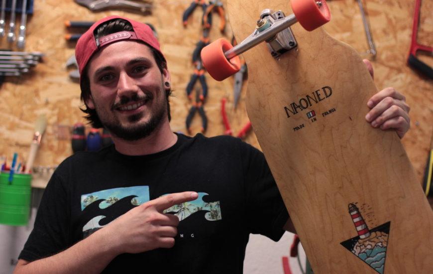 [MAKER À COEUR] Julien, l'auto-entrepreneur sur longboard