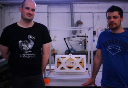 [MAKER À COEUR] Vincent et Matthieu, en chantier sur l'imprimante 3D !