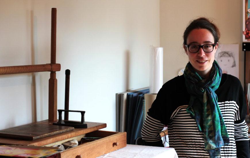 [MAKER À COEUR] Claire, l'artisane relieuse
